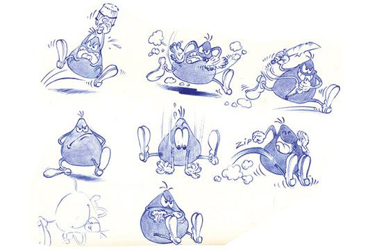 "Fumetto di ""Cattivik"" - Matteo Piccinini - Cartoonist"